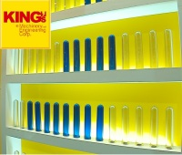 No China Supplier KING's B01 Machinery 5 Gallon,20 Liter 700g Water Bottle PET Preform