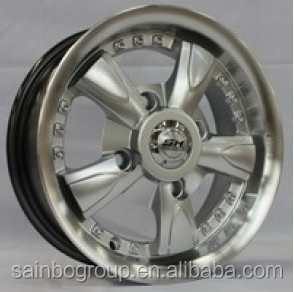 SAINBO WHEELS S380 WHOLESALES PRICE EXCELLENT QUALITY CAR ALLOY WHEEL RIMS 4/ 6 /7 /8 HOLES