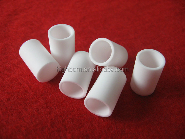 thermal analysis alumina ceramic crucible with lid