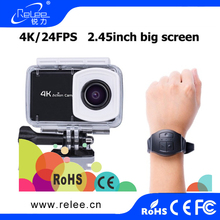 2.45 inch touch screen sport camera xdv 4k cameras 4k action camera