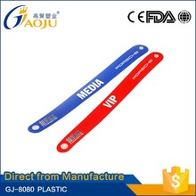 ISO CE FDA Certificate excellent type wristband for activity