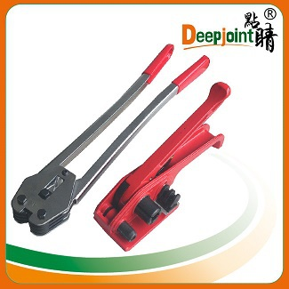 New design easy operate manual sealer machine plastic pet manual handed strapping tool sealer long handle for PET belt