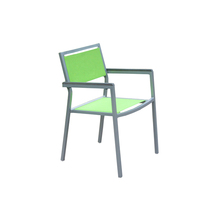 Outdoor aluminum frame sling fabric chair
