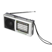 Portable type support usb drive torch am fm radio