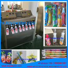Plastic Juice Water Yogurt Jelly Drinks Tube Bag Filling Sealing Packing Machine