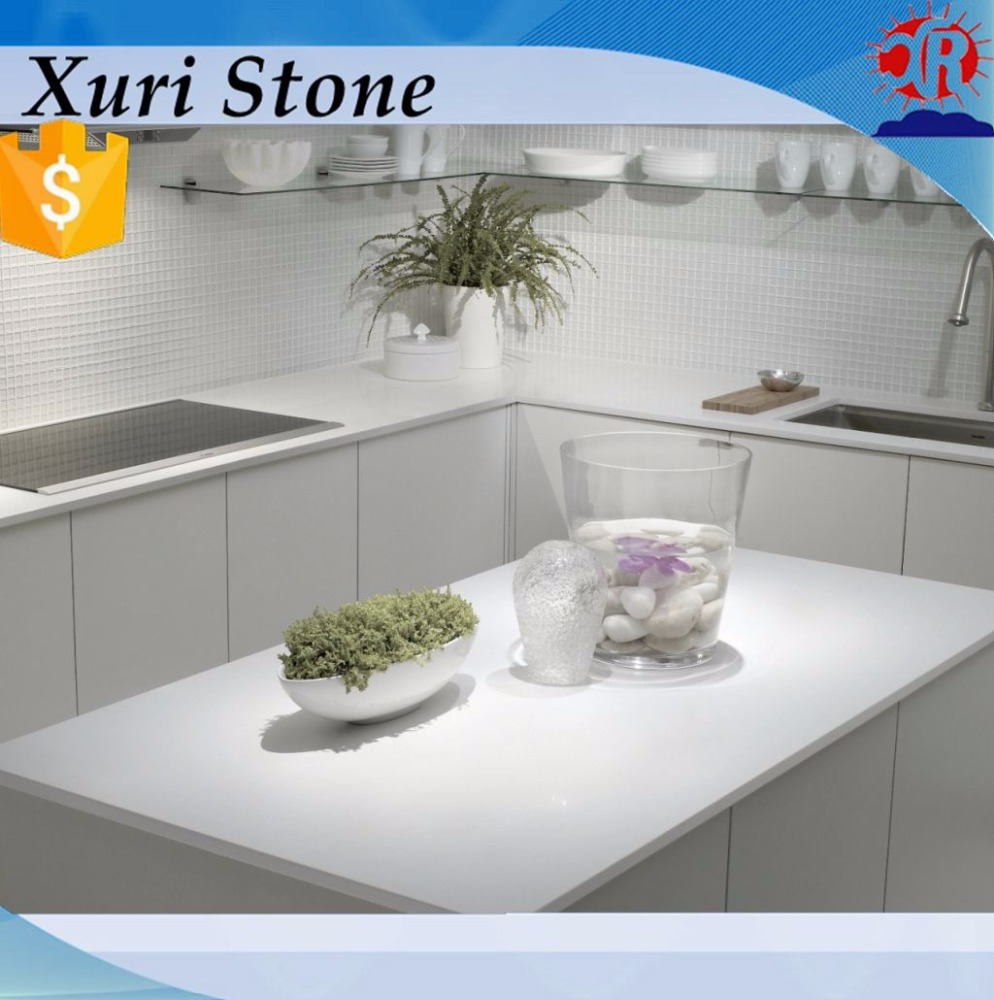 Wholesale Lowes Pricing Stone Composite White Quartz Countertop