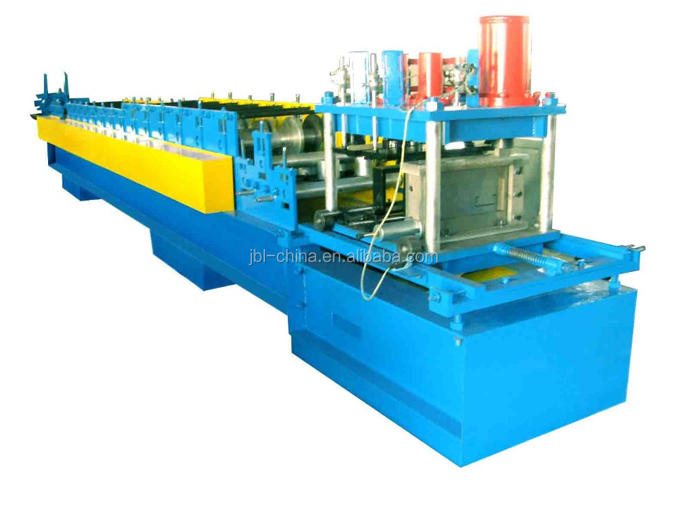 automatic C/Z Purlin Roll Forming Machine for roof and wall in Hebei Botou Jinbaili