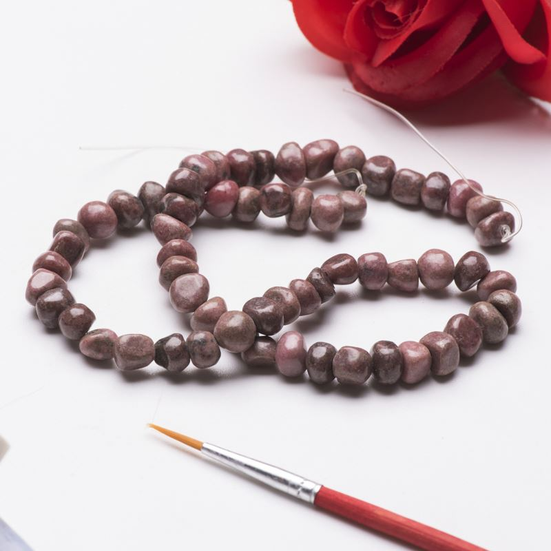 China manufacturer red gemstone fashion agate beads natural stone