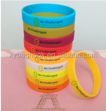 2017 fashion Manufacturers customized silicone bracelet