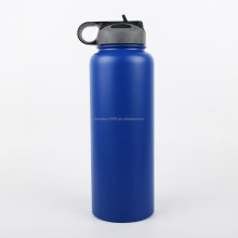 32oz 18/8 double wall vacuum insulated sports stainless steel water bottle making machines with straw