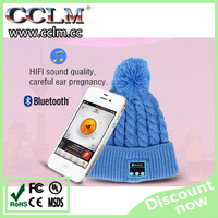high quality custom bluetooth Earflap hat with factory price wholesale