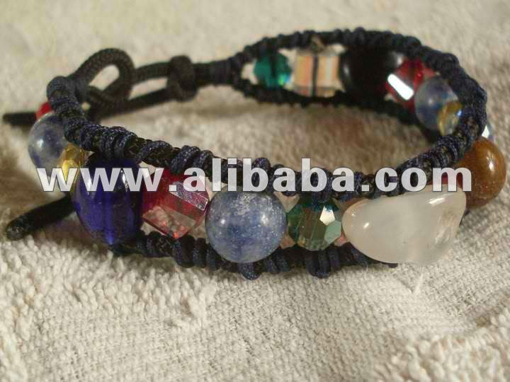 Shamballa Bracelet with Assorted Beads II