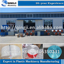 plastic rope production line/ PP PE PET twine extruding machine