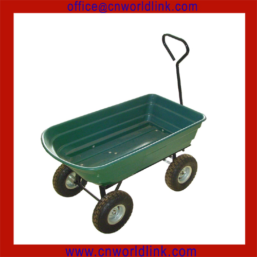 High Quality Chinese Good Cheap Big Foot Plastic Wagon