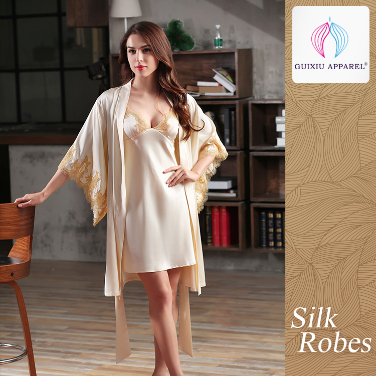 Wholesale satin gown and robe - Online Buy Best satin gown and robe ...