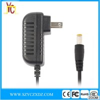 AC/DC 5V 3A 15W black power adapter use for Router wifi micro USB charger switching power supply