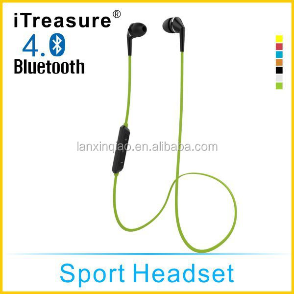China Supplier OEM/ODM Noise Reduction Sports Wireless Stereo Bluetooth earphone