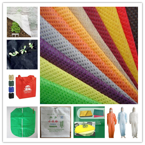 PP spunbond non woven mulch film plant cover  weed control protective coverall shopping bag tablecloth car cover non woven