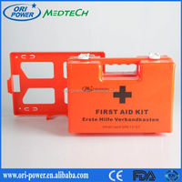Wholesale DIN 13157 Germany CE FDA approved oem promotional medical office custom burns first aid kit