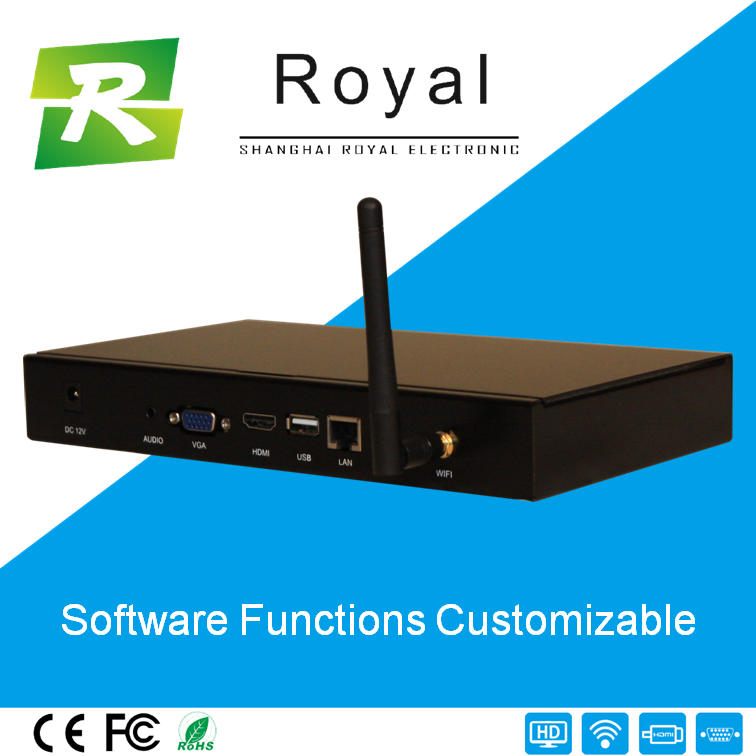 Full HD Android Digital Signage Media Player Box