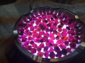 High Quality Natural Purple Garnet Rough 5-6MM
