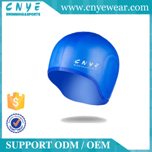 CNYE 2016 OEM Customised High Quality Silicone Swim Hat or Cap