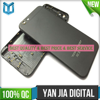 "High quality Matte black housing for iphone 6 4.7"" black color housing"