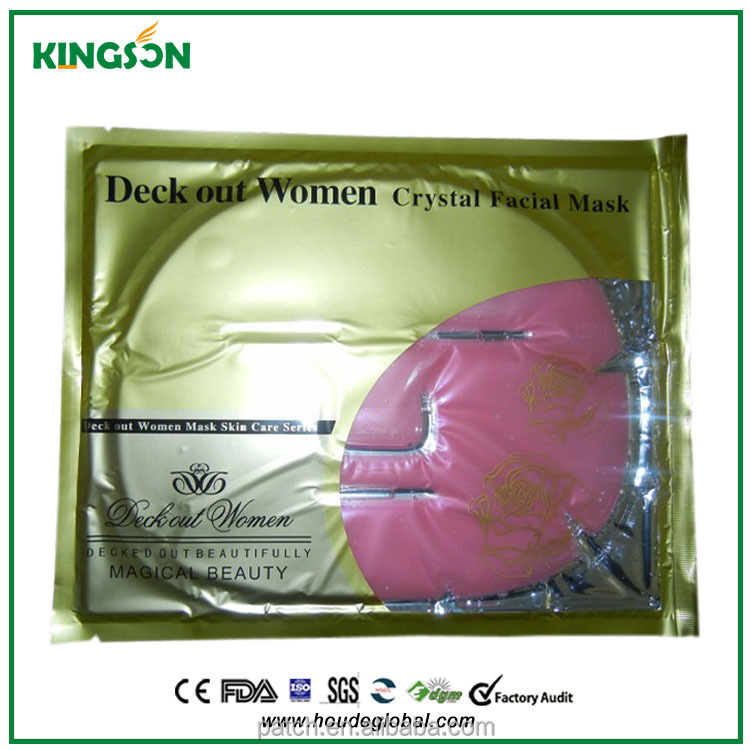Pink color whitening Red Wine Facial Mask