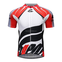 High Quality Manufactured Sports Men's Cycling Jersey short sleeve