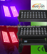 72x10w rgb 5in1 led city color light / 72 led wall washer