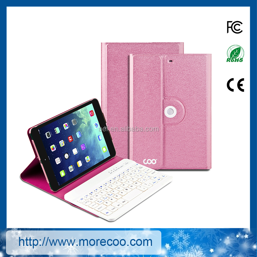 China factory for ipad mini bluetooth keyboard case
