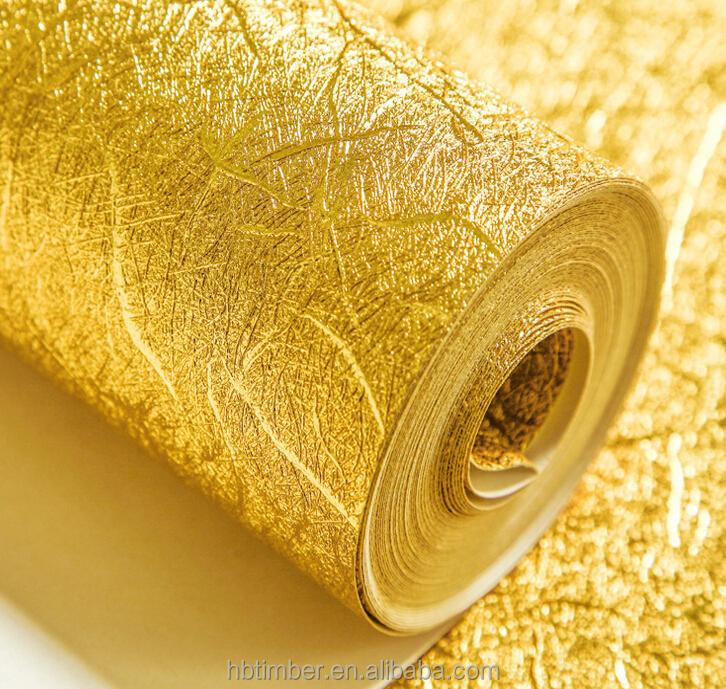 Metallic Gold Foil Background