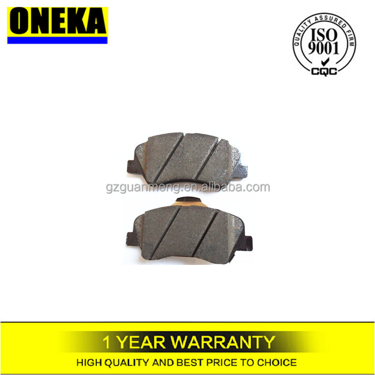 [ONEKA]58101-1RA00 for Hyundai Accent/SOLARIS Korean car spare parts front axle brake pad