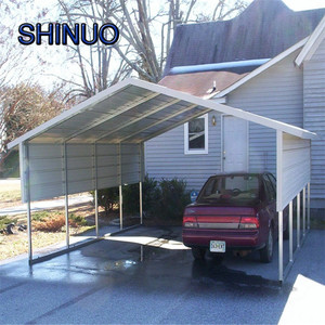 Steel square tube frame lowes metal portable cheap carports for sale