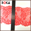 Popular Design Red Eyelash Lace Trim for Mesh Evening Patty Dress BK-TRM2669