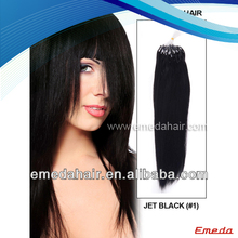 Factory Price Top Quality Virgin 30 Inch Micro Ring Hair Extensions for black women