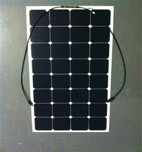 Most Popular Hottest Selling Solar Cell Module 100W 18V Semi Flexible Solar Panel Home System Solar Panel Without Frame
