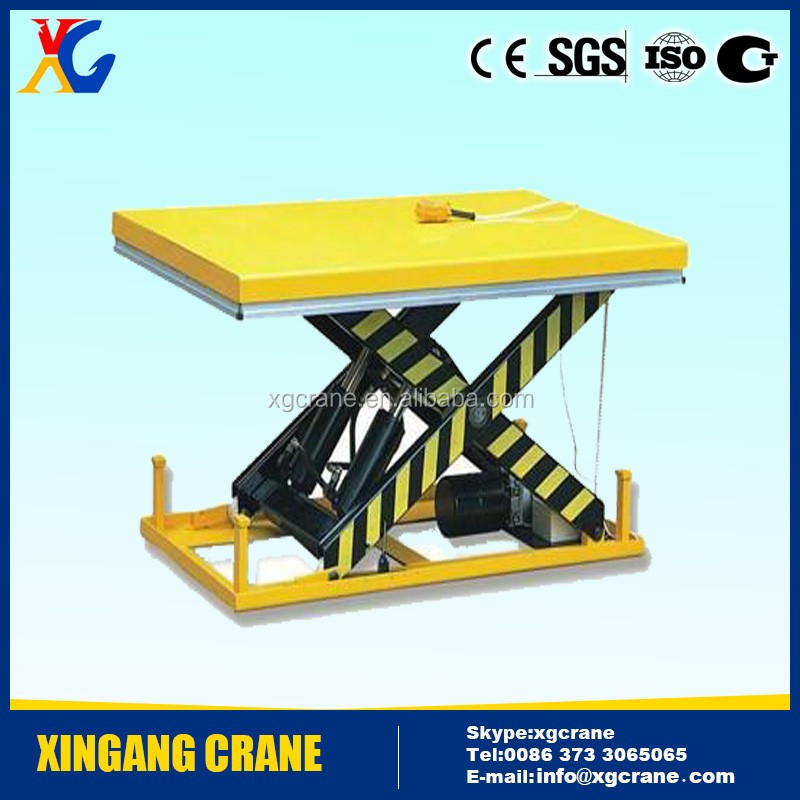 Cleaning Lift Platform ,Motorized Lifting Platform