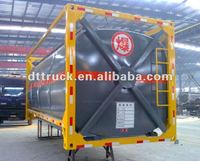 sale 20feet ISO tank container for gasoline manufacture