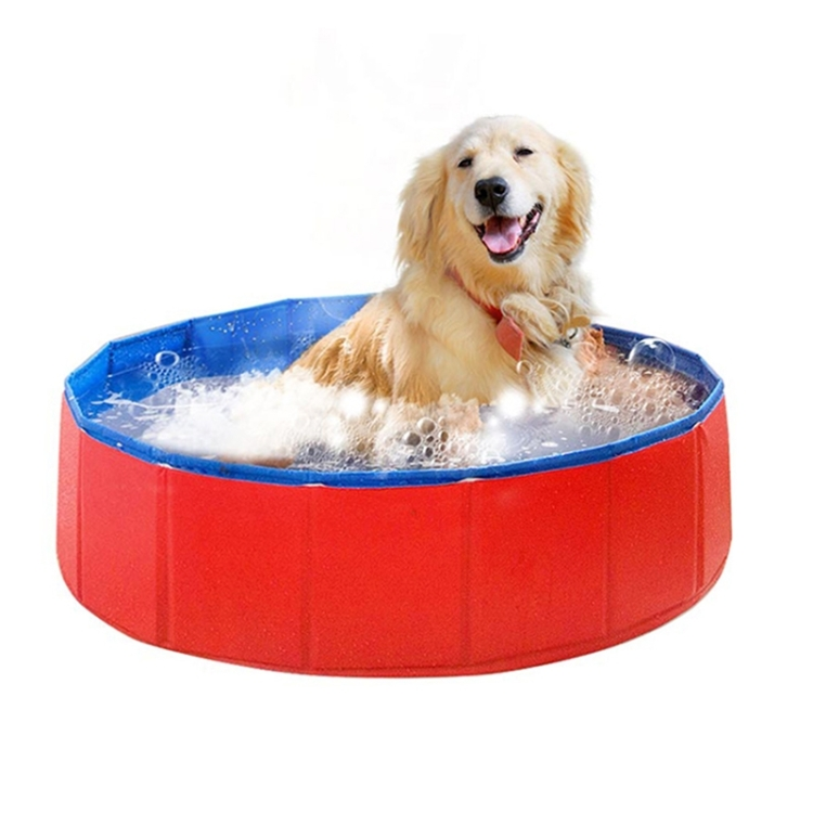 Foldable Pet Products Swimming Pool Bathtub for <strong>Dog</strong> and Cat Teddy, Diameter:80cm High:20cm