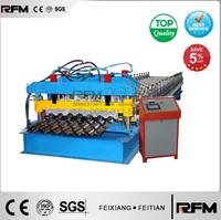 2015 Best Price Glazed Tile Roof Panel Roll Forming Machine For Roof Made In China
