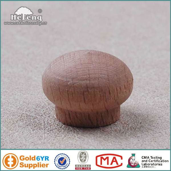 mushroom natural wood bottle cap