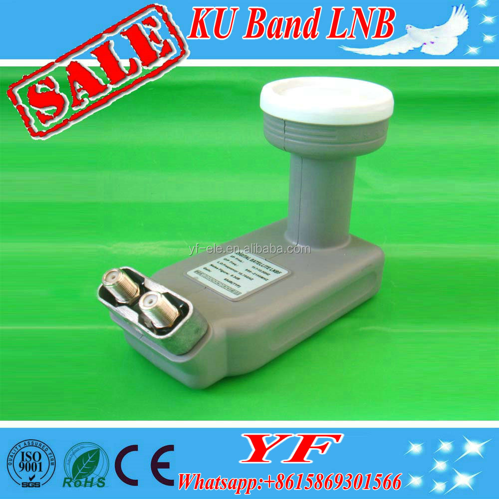 KU band universal Premium HD twin LNB