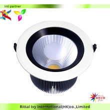 Lattic Spinning Aluminum Reflection Cup Super Bright Led Downlight With 15W