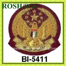 School Hand Embroidery Badge