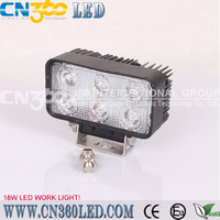 new design high power tractor offroad 18W round LED work light