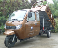 hot sale 300cc three wheel motorcycle for cargo delivery with closed cabin