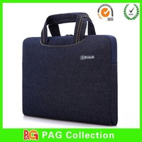 hot sell neoprene laptop case, fashion neoprene laptop sleeve, 13.3 inch Jean neoprene laptop bag