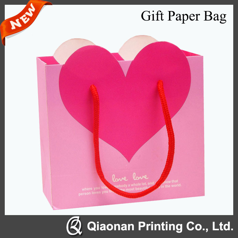 High Quality Baby Handle Gift Paper Bags