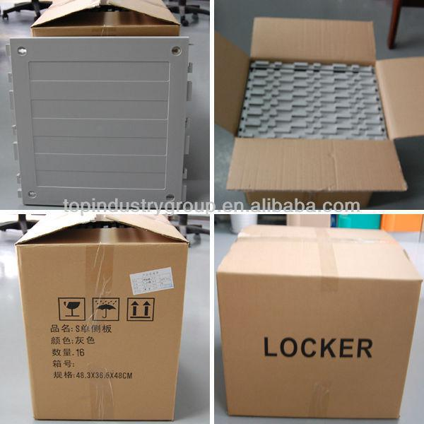 dismountable plastic lockers school furniture